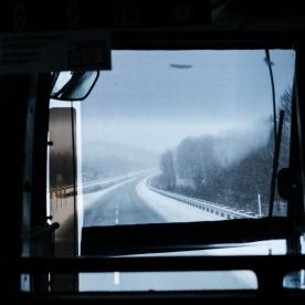 La route de l'Estrie