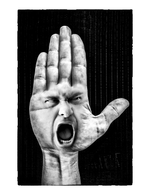 Arrête de crier!