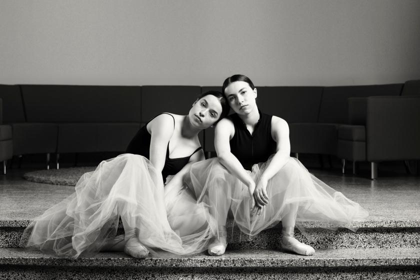 Elisabeth Mailhot & Samantha St-Pierre (par Daniel Côté)