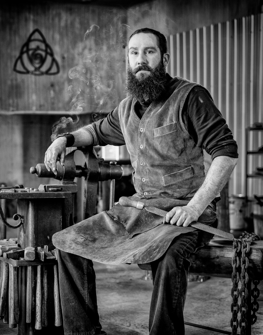 Romain Francès Maître artisan ferronnier d'art.